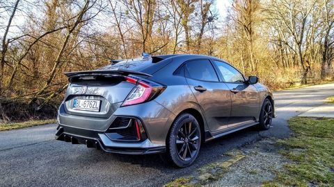 Thumb test honda civic 1.0 turbo sport line autozurnal 33