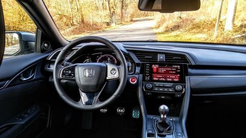 Thumb test honda civic 1.0 turbo sport line autozurnal 14