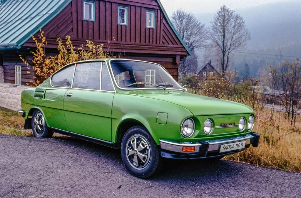 Content 20  skoda 110 r coup