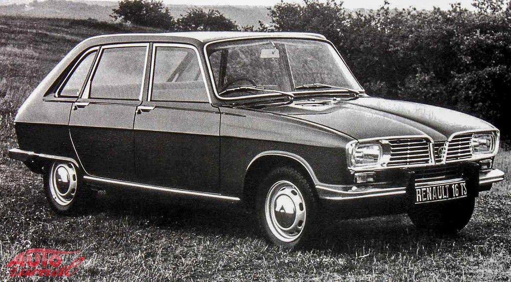 Content 1964 renault 16