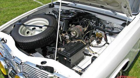 Thumb renault 16 engine