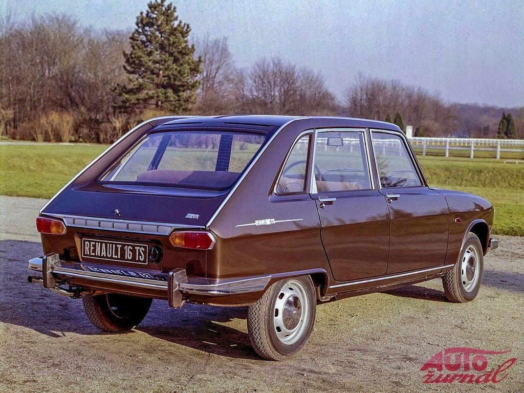 Content renault 16 ts 1968