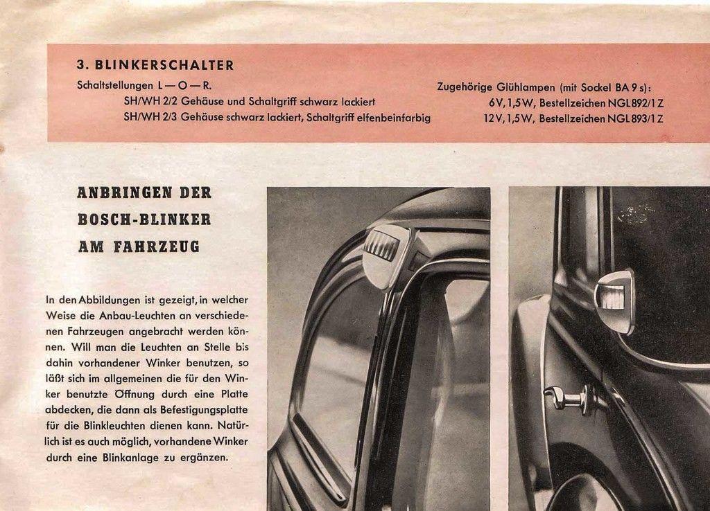 Content 122 bosch turn signal brochure 1951 vw split 7