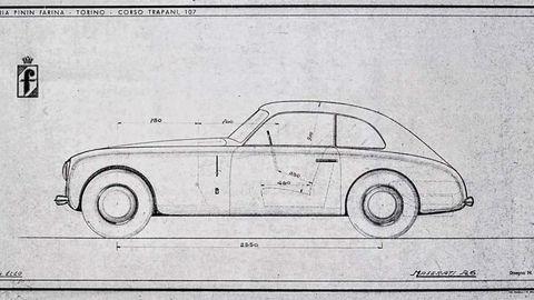Thumb 47  maserati a6 pininfarina studio blueprint 101747  maserati a6 pininfarina studio blueprint
