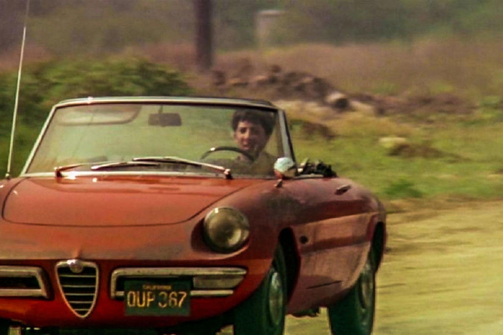 Content holly the graduate dustin hoffman alfa romeo duetto spider 14 1084holly the graduate dustin hoffman alfa romeo duetto spider 14