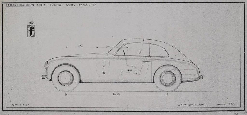 Content maserati a6 pininfarina studio blueprint 1103maserati a6 pininfarina studio blueprint