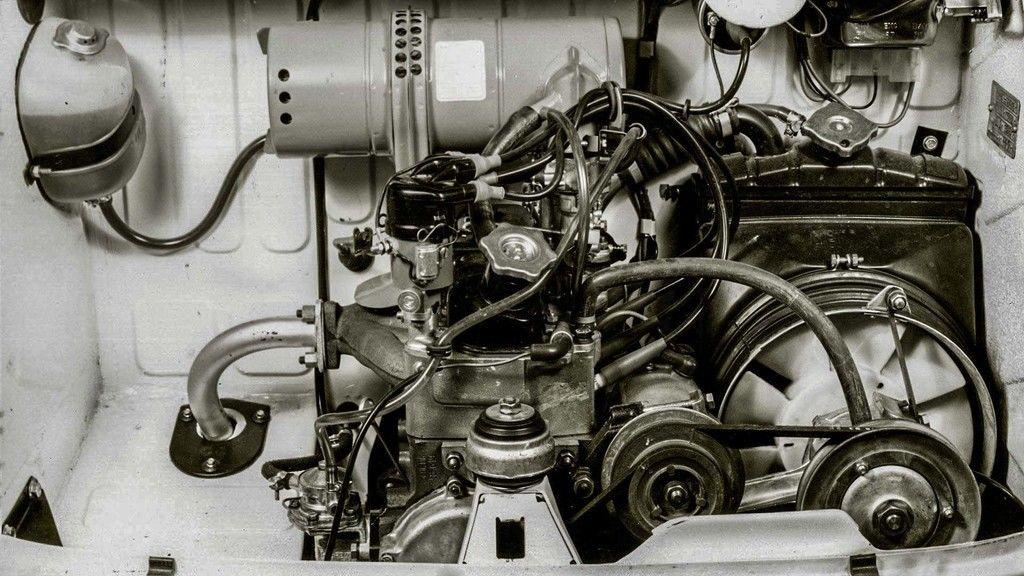 Content seat 600  1957 1973  motor