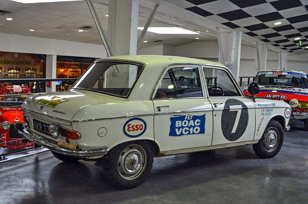 Content aventure peugeot museum 204 rally 1