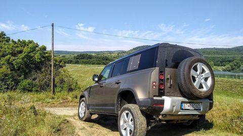 Thumb test land rover defender 110 p400 2020 autozurnal.com 62