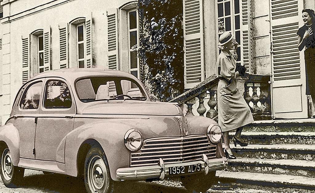 Content 14 peugeot 203 1948