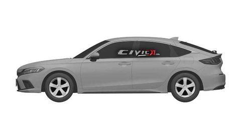 Thumb honda civic 11th generation design trademark driver side