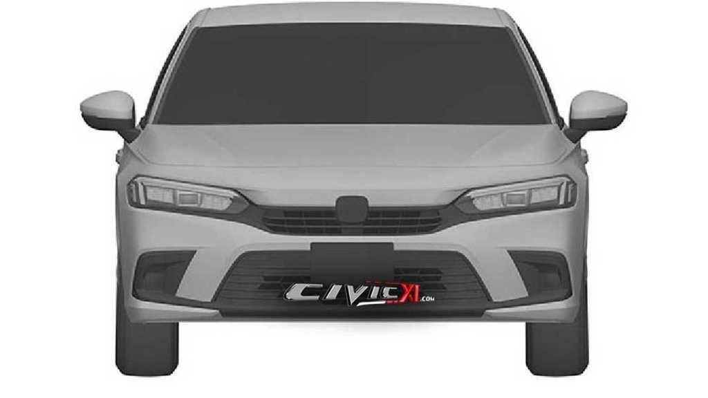 Content honda civic 11th generation design trademark front