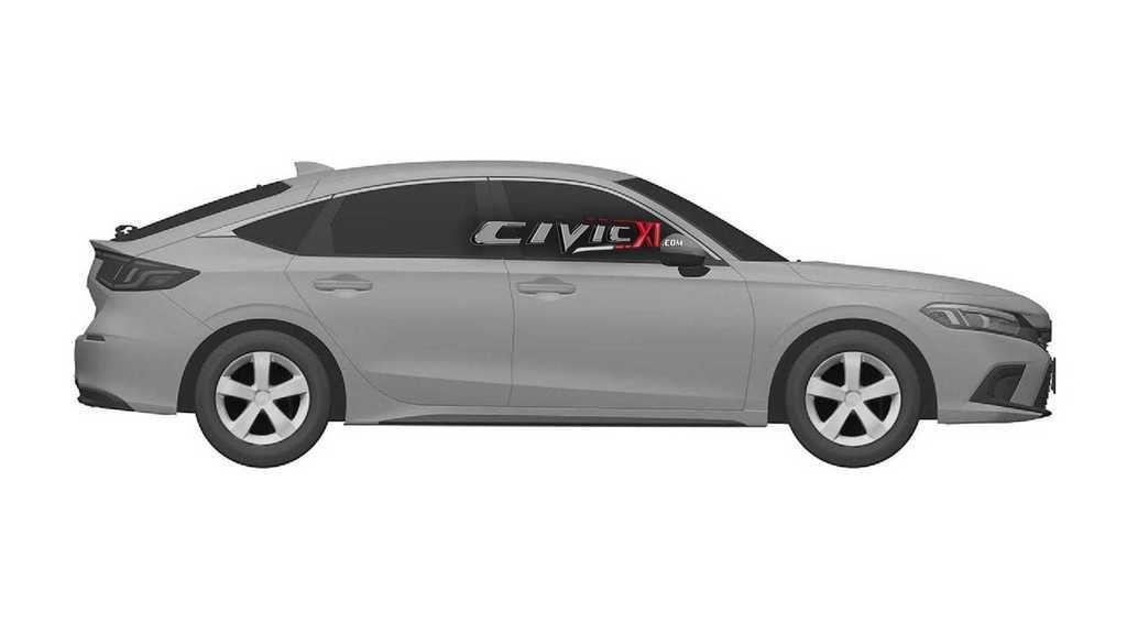 Content honda civic 11th generation design trademark passenger side
