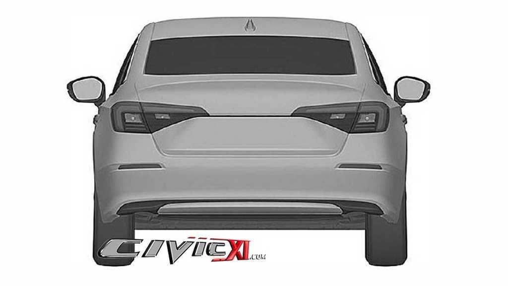 Content 2022 honda civic sedan rear fascia at patent office