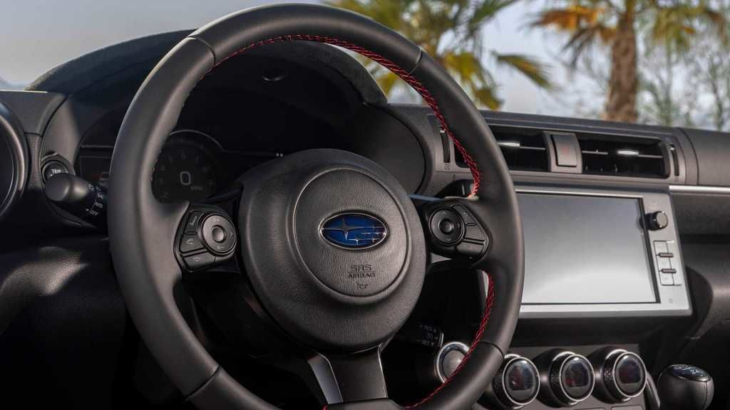 Content 2022 subaru brz interior steering wheel