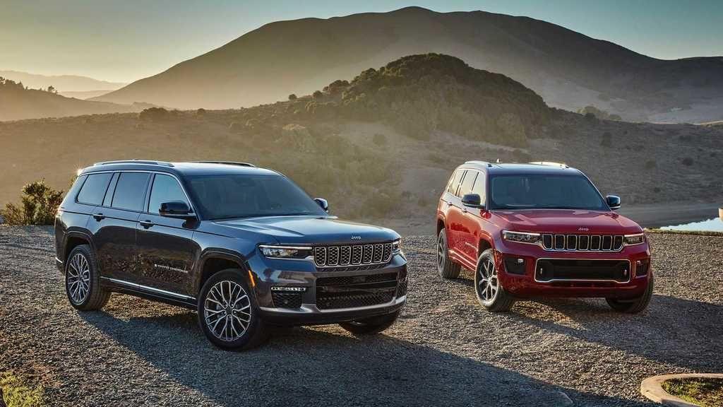 Content 2021 jeep grand cherokee l exterior