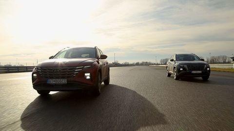 Thumb test hyundai tucson 2021 hybrid vs turbodiesel autozurnal.com 8