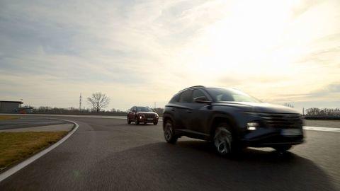 Thumb test hyundai tucson 2021 hybrid vs turbodiesel autozurnal.com 11