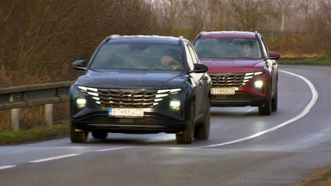 Thumb test hyundai tucson 2021 hybrid vs turbodiesel autozurnal.com 16