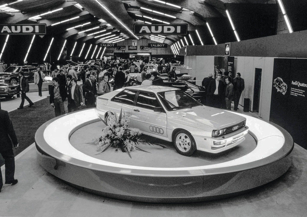 Content debut at the geneva motor show in march 1980