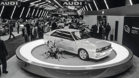 Thumb debut at the geneva motor show in march 1980
