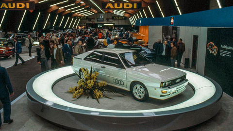 Thumb quattro   debut at the geneva motor show in march 1980
