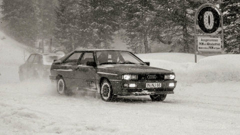 Thumb quattro   prototype test on the turracher h he in 1979
