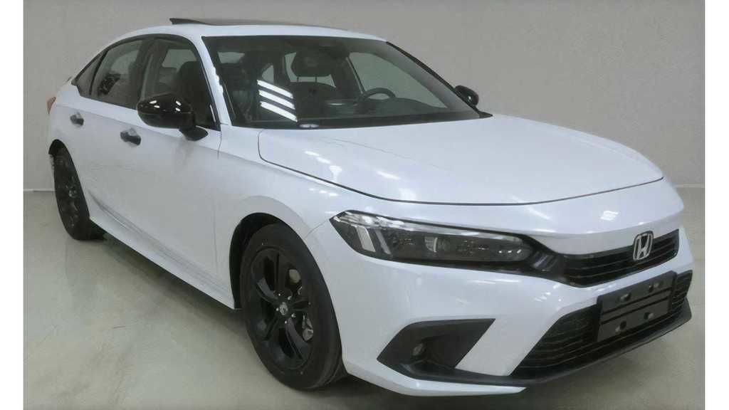 Content content content 2022 honda civic sedan production version for china  2