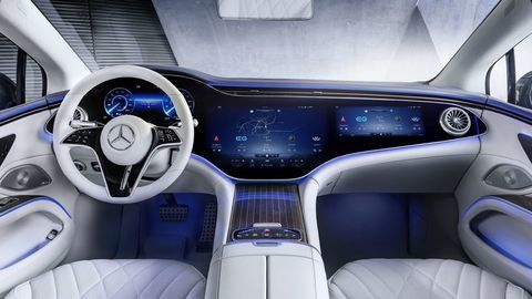 Thumb najluxusnejsi elektromobil mercedes eqs 2021 facelift autozurnal.com 7