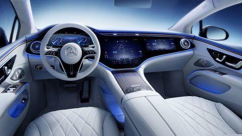 Thumb najluxusnejsi elektromobil mercedes eqs 2021 facelift autozurnal.com 14