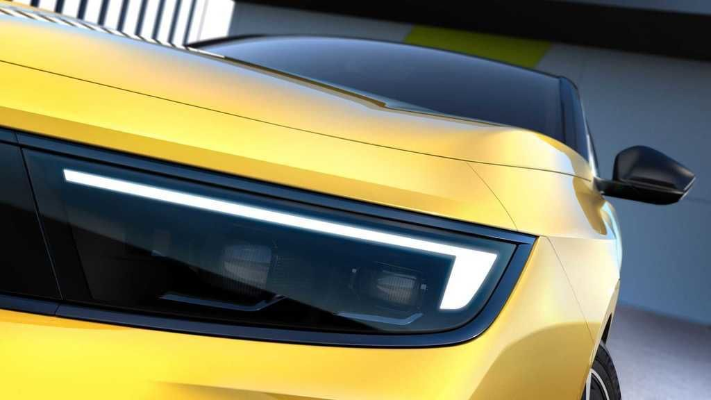 Content opel astra 2022 teaser