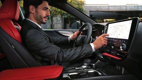 Thumb lexus nx 2022 official autozurnal 43