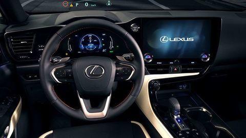 Thumb lexus nx 2022 official autozurnal 36