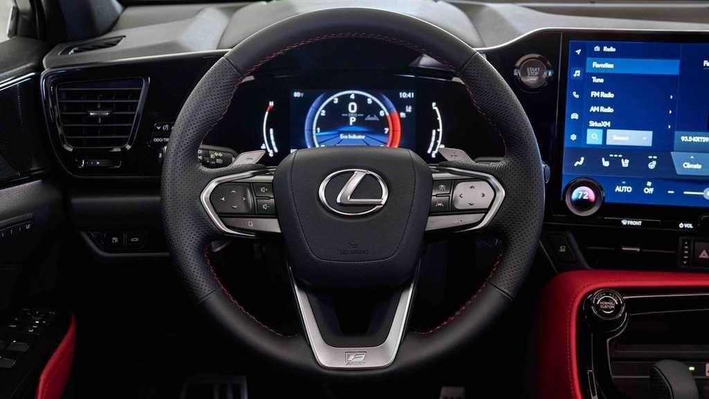 Content 2022 lexus nx 350 f sport steering wheel
