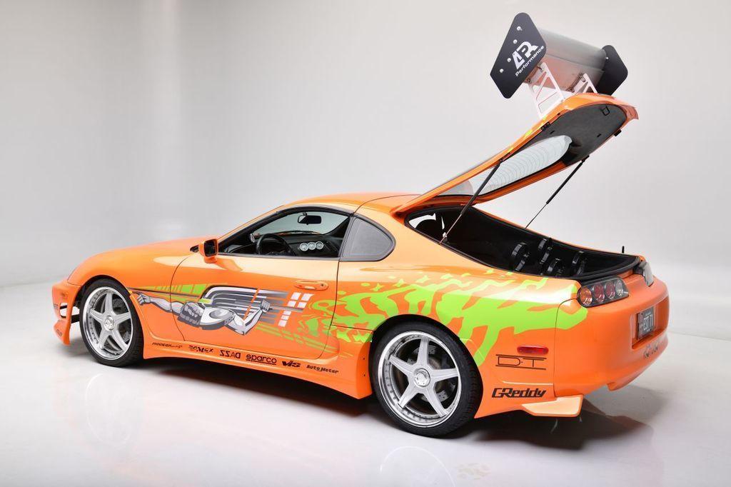 Content fot. barrett jackson auctions   1994 toyota supra   fast   furious movie car hatch