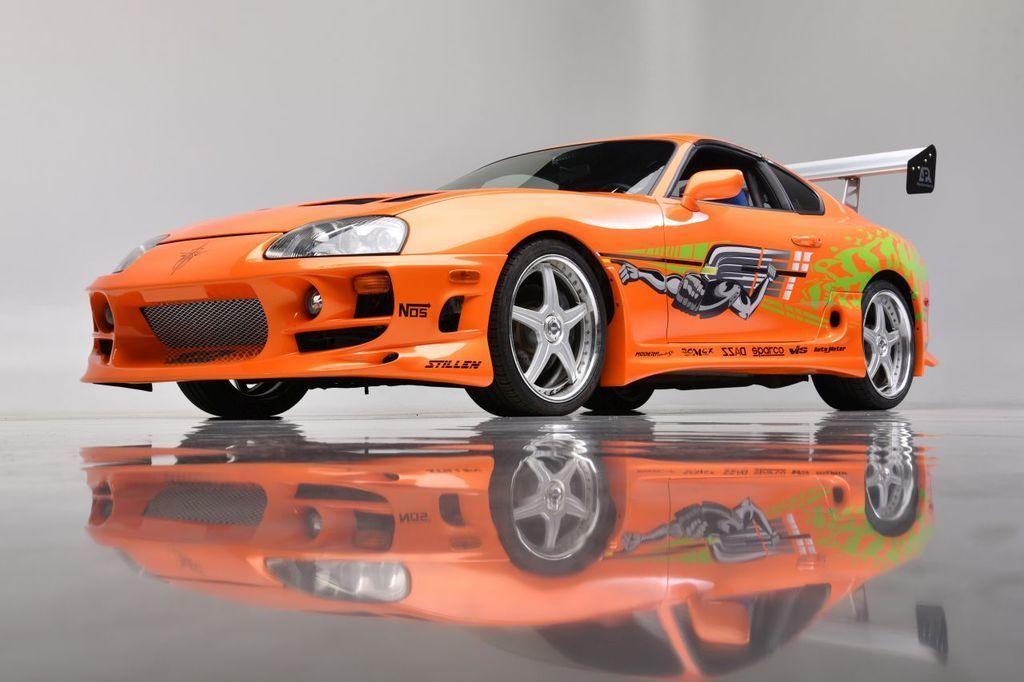 Content fot. barrett jackson auctions   1994 toyota supra   fast   furious movie car front34 3