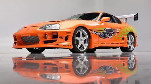 Thumb fot. barrett jackson auctions   1994 toyota supra   fast   furious movie car front34 3