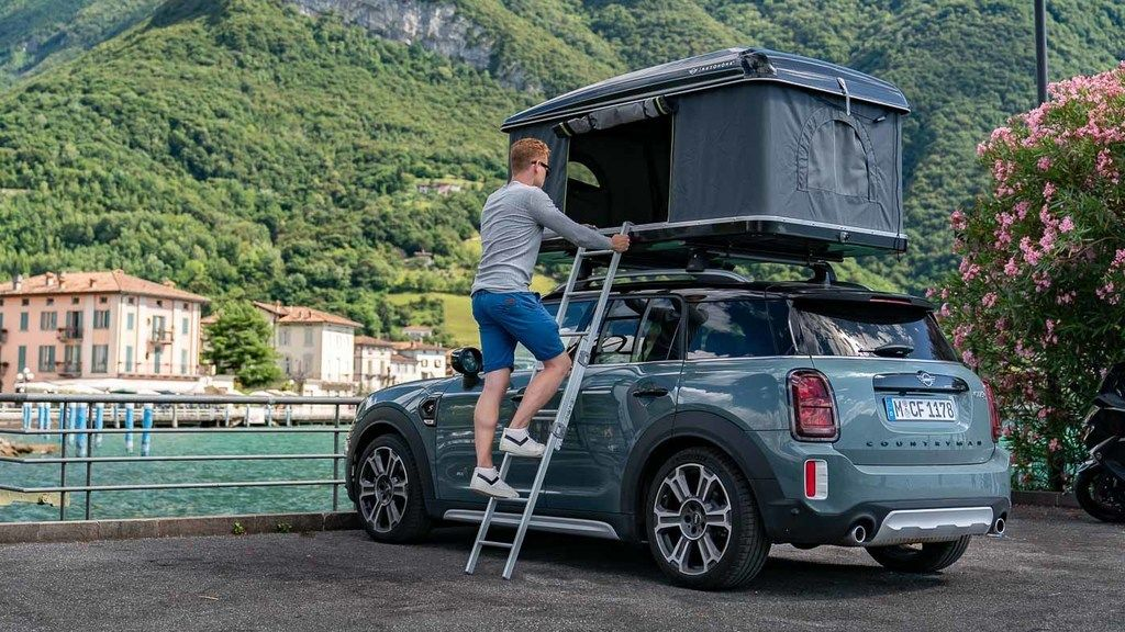 Content 2020 mini countryman all4 roof tent 8