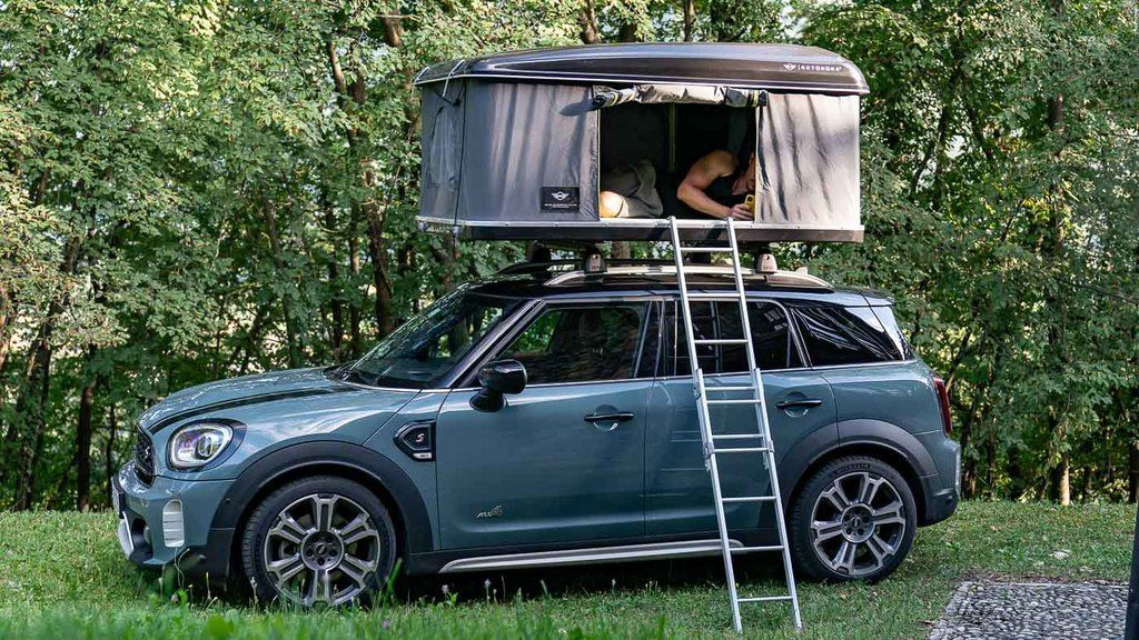 Content 2020 mini countryman all4 roof tent 14