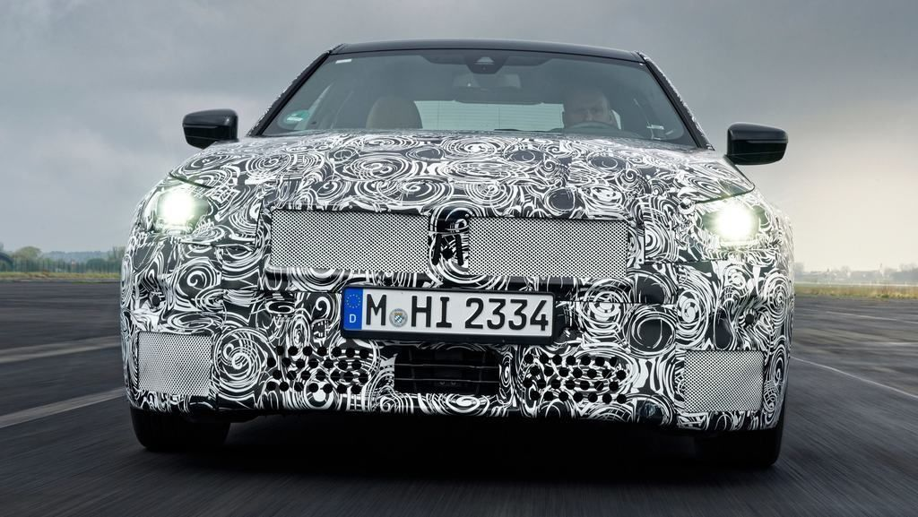 Content content bmw 2 series coupe prototype 3