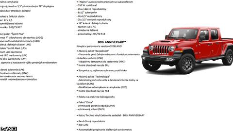 Thumb jeep gladiator vybavy