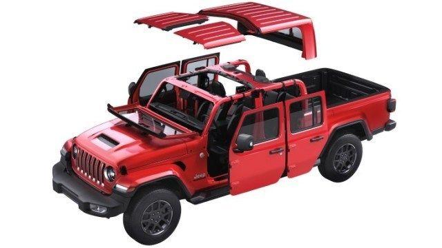 Content jeep gladiator odstraneni karoserie