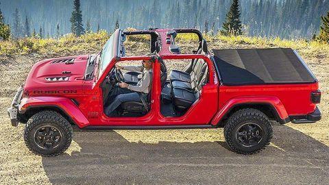 Thumb jeep gladiator