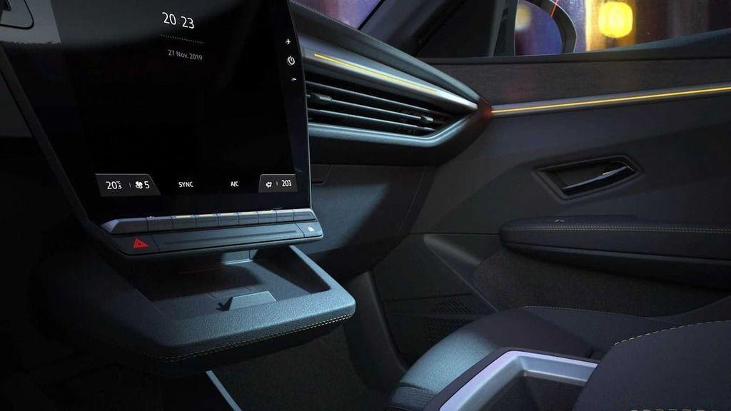 Content next gen renault megane e tech electric interior teaser