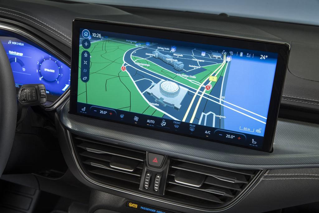 Content 2021 ford focus active interior sync4 19