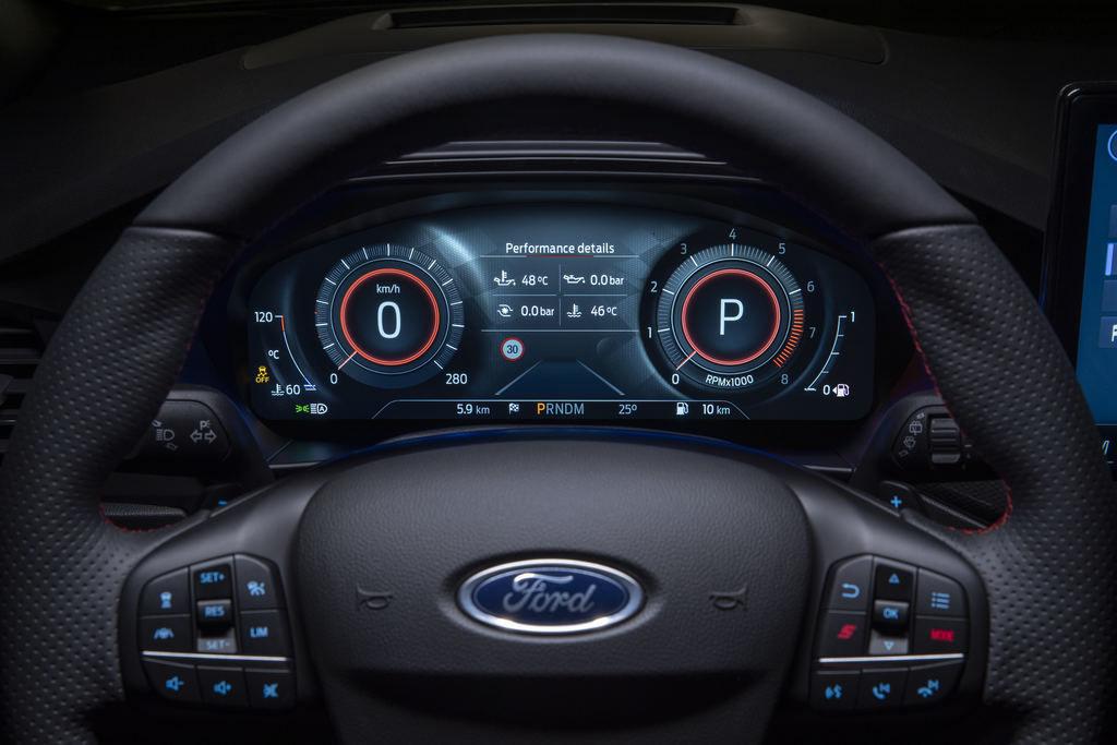 Content 2021 ford focus st interior sync 05