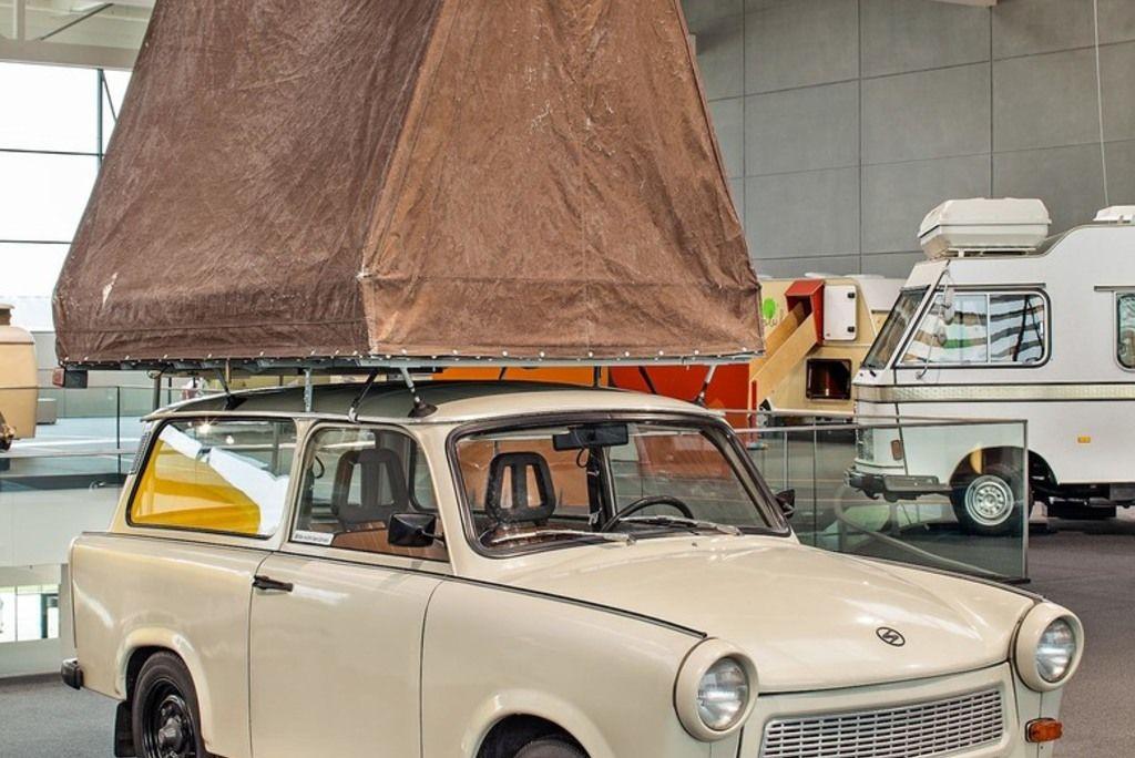 Content trabant 601 universal mit mueller autodachzelt