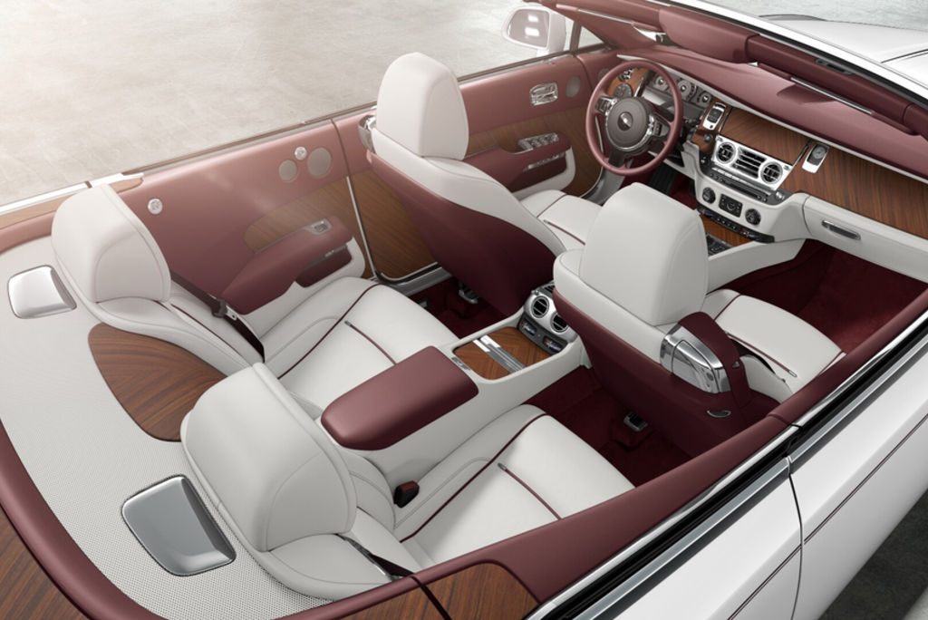 Content rolls royce dawn interior naples
