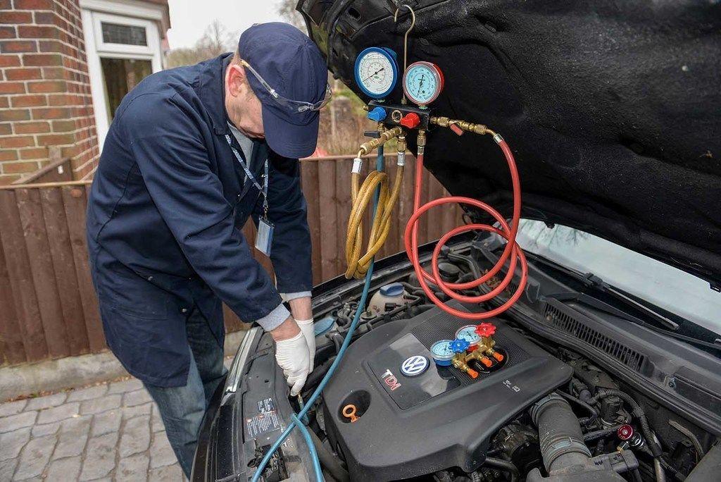 Content car aircon repair