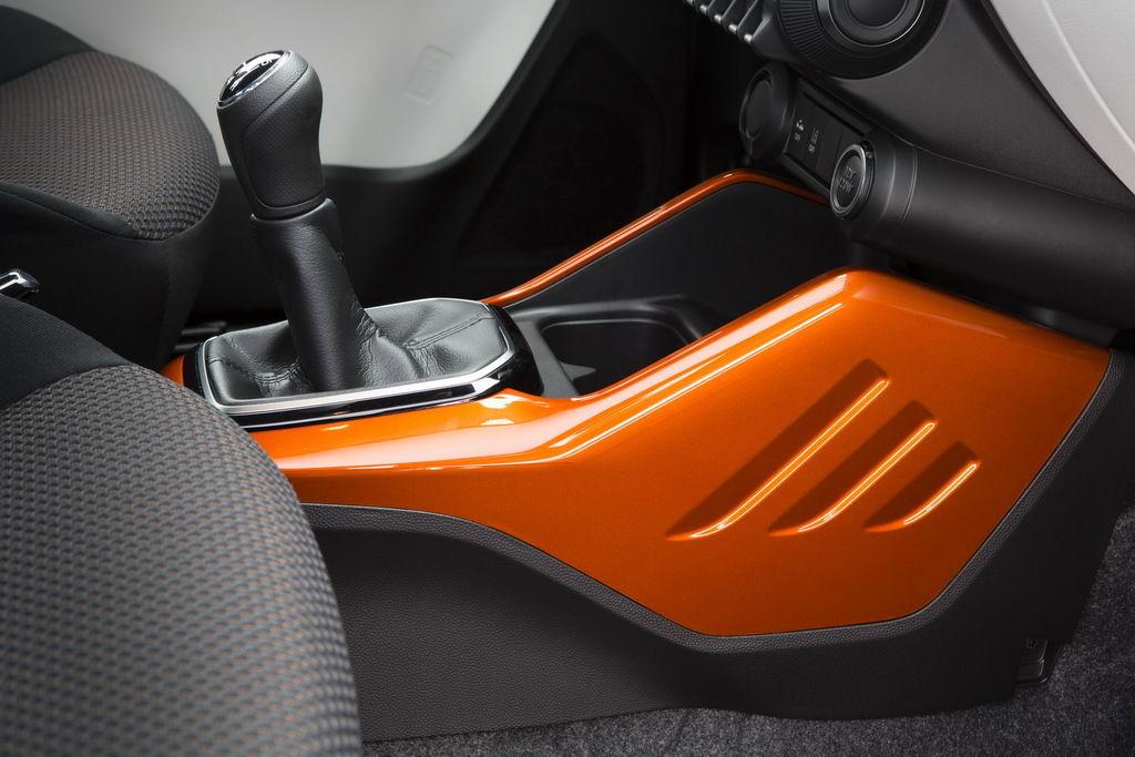 Content interior   gear stick